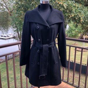 NWT Anne Klein Cashmere Blend Overcoat